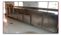 Kitchen stanless fabrication